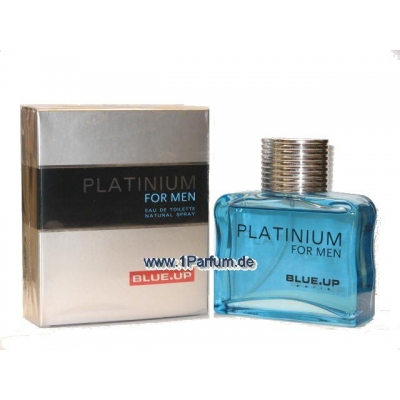 Blue Up Platinium Homme - Eau de Toilette für Herren 100 ml