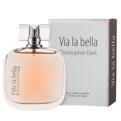Christopher Dark Via La Bella - Eau de Parfüm für Damen 100 ml