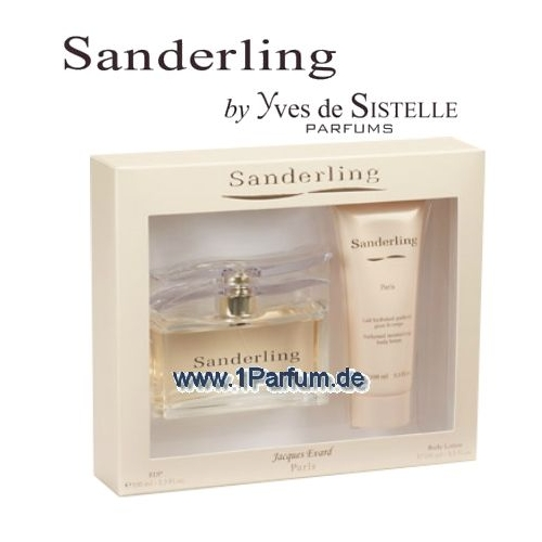 Paris Bleu Sanderling - Set für Damen, Eau de Parfüm, Körperlotion